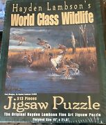 New Sealed Hayden Lambsonand039s Jigsaw Puzzle 513 Pieces Fowl Weather