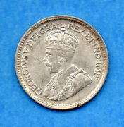 Canada 1915 5 Cents Five Cent Small Silver Coin - Vf/ef