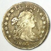 1803 Draped Bust Dime 10c - Vf Details - Rare Early Date Coin