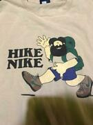 The 80and039s Nike Vintage Cotton T-shirt Hike Menand039s M Used Free Shipping From Japan