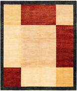 Hand-knotted Carpet 8and0390 X 9and0396 Traditional Vintage Wool Rug