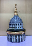 Rare Halcyon Days Music Box The Dome Of St Paulandrsquos Cathedral- Bach 825