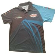 World Series Sprintcars Speedway Aust. Menand039s Size L Polo Shirt Top Racing Cars