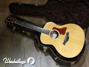 Taylor Gs-rs Pure Acoustic Guitar 2006 Manufacture All Veneer Production