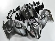 Silvery Gray Abs Injection Fairing Kit Fit For 2008-2016 Gsxr1300 Hayabusa Gen 2