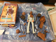 Vtg Marx Johnny West Series Geronimo Action Figure W/ Accessories And Box 1974