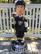 Sidney Crosby Pittsburgh Penguins 3and039h Bobblehead Limited Edition 36h D/50 New