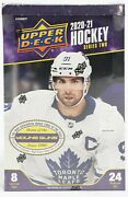 2020/21 Upper Deck Series 2 Hockey Hobby 12 Box Case Factory Sealed Young Guns