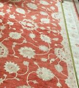 Large Size 364x272 Cm Hand Knotted Traditional Ziegler Wool Carpet