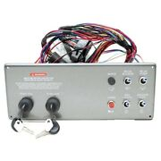 Sea Ray 12 X 4 3/4 Inch Dual Ignition Inboard Boat Panel W/switches Horn Fuse