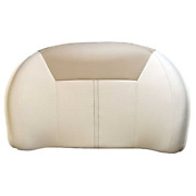 Sea Ray Boat Seating Backrest 2066272   18 3/4 X 11 1/2 Inch White Beige