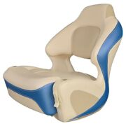 Chaparral Boat Helm Seat 31.00173 | Bolster Off White Bright Blue