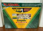 Lionel 6-11813 Crayola Activity Train Set -- Factory Sealed Ships The Same Day