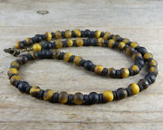Black Onyx And Tiger Eye Necklace - Mens Necklace - Mens Beaded Necklace
