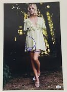 Goldie Hawn Autographed Signed 12x18 Photo Sexy Vintage Acoa Racc