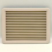 Dometic Beige 13 1/2 X 9 3/8 Marine Boat Air Conditioner Vent Cover W/ Filter
