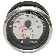 Faria Boat Multi-function Gauge Gs0071a   Speedometer Fuel 3 1/4 Inch
