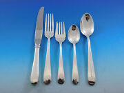 Old Maryland Plain By Kirk Sterling Silver Flatware Set Service 40 Pieces