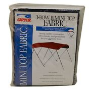 Carver Boat 3 Bow Bimini Top Cover 602a05   Captain Navy Fabric 6 Foot