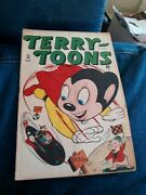 Terry Toons 58 Timely Marvel Comics 1947 Mighty Mouse Golden Age Superhero Scifi