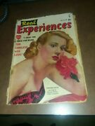 Real Experiences 25 Timely Comics 1950 Virginia Mayo Noir Film Star Photo Cover