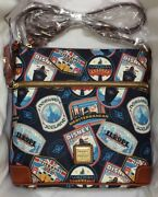 Disney Cruise Line Dcl Dooney And Bourke Europe Itinerary Crossbody Bag Purse