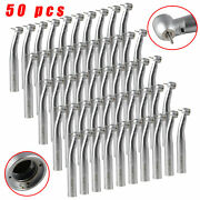 50pack Dental Fiber Optic Led Large Head Handpiece Push Button Spray Fit Kavo D6