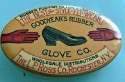 1900 Goodyearand039s Rubber Glove Co And Shoe Advertsing Souvenir Knife Sharpener