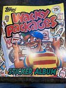 1982 Topps Wacky Packages Complete 20 Sticker Album Nice