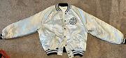 1980andrsquos Iaff Intl. Assn. Of Fire Fighters Local 314 King Louie Satin Jacket Xl