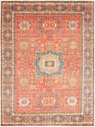 Vintage Hand-knotted Carpet 9and0393 X 12and0394 Traditional Oriental Wool Area Rug