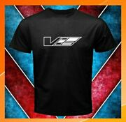 Cadillac Ctsv Logo Car Emblem Cts V Men Black T-shirt S-2xl