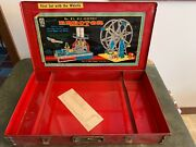 Vintage Erector Set No. 8 1/2 A.c. Gilbert Co. Ferris Wheel With Case And Book