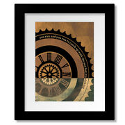 Time By Pink Floyd - Classic Rock 70s Music Song Lyric Print, Canvas, Or Plaque