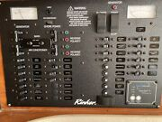 Rinker 342 Black Aluminum 110v 60hz Boat Cabin Breaker Panel 222433