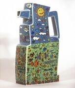 James Rizzi Something Fishy Milk Jug Made Of Porcelain From Rosenthal -