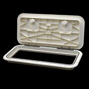 Innovative Product 521-023 9 X 19 Arctic White Boat Deck Hatch W/ Seal