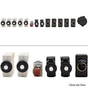 Carling 14pc Boat Toggle Switch Set W/ Breaker / Horn Button / Power Socket
