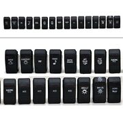 Carling 16 Piece Boat Assorted Lighted Rocker Switch Set