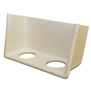 Chaparral Boat Storage Tub Panel | 275 Ssi W/ Cup Holders White