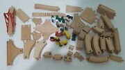 Wooden Train Track Mixed Lot 100+ Melissa And Doug Brio Toys R Us And More