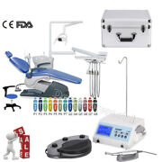 Dental Chair Pu Leather Computer Controlled Unit /brushless Implant Motor System