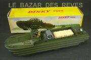 Dinky Toys France. Camion Amphibie Dukw. Ref 825 + Boite.