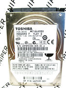 Toshiba 160gb Mk1646gsx Sata Hdd2d92 F Vl01 S Laptop Harddrive Wiped And Tested
