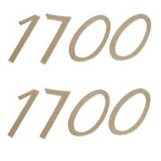 Lund 1700 Boat Decals Pair Decal
