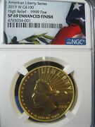 2019-w G100 High Relief Ngc Sp 69 Enhanced Finish