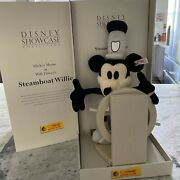 Steiff Club 1999 Steamboat Willie Mickey Mouse 2451 Of 10000 Fao Schwarz
