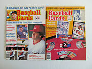 Lot Of 2 1985 Baseball Cards Magazine - Chuck Connors Card Inside, The Rifleman