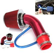 Car Cold Air Intake Filter Induction Kits Pipe Power Flow Hose System