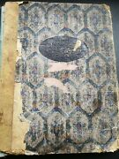 Stunning 1920s Vintage Scrapbook Packed With Christmas Greetings Cards Scraps